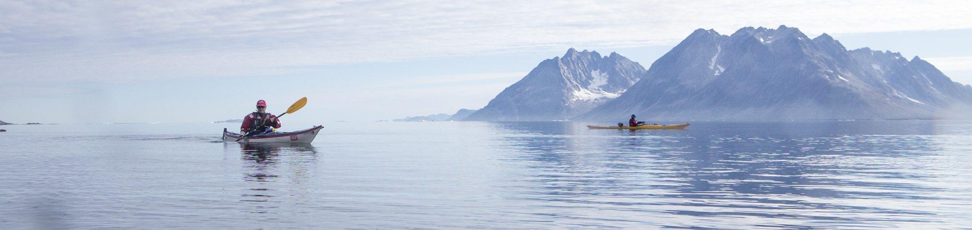 Kajakkekspedisjon på Øst-Grønland