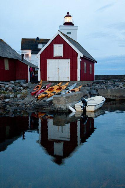 Padletur på Sørlandet